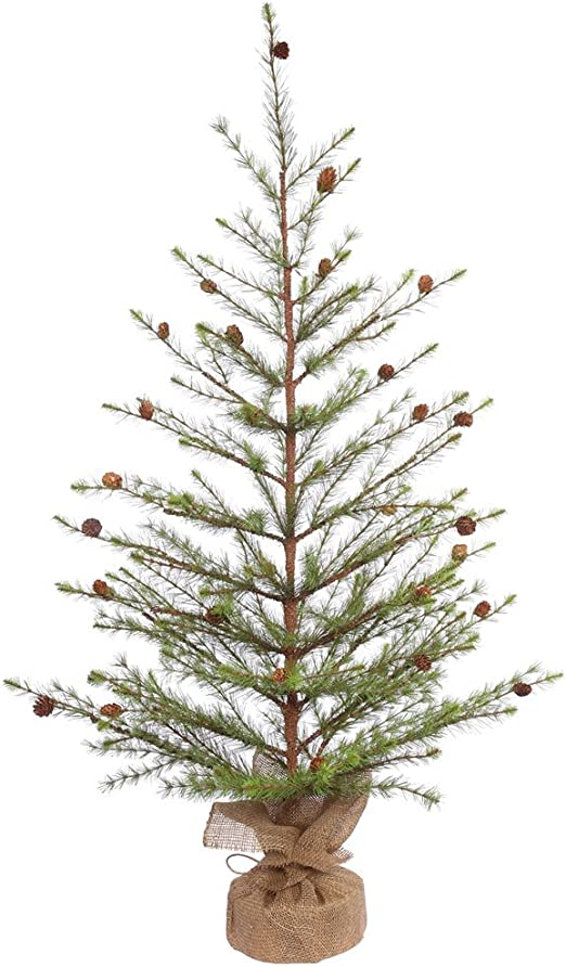 Green K/&K Interiors 53113A 28 Inch ICY Pine Tree W//Mini Pinecones