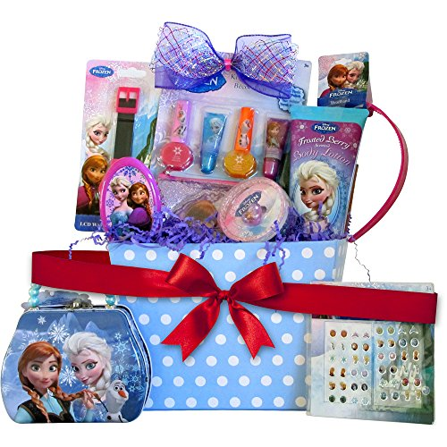 Birthday Gift Guide 10 Best Birthday Hampers: Gift Basket Idea With 10 Frozen Themed Items For Girls