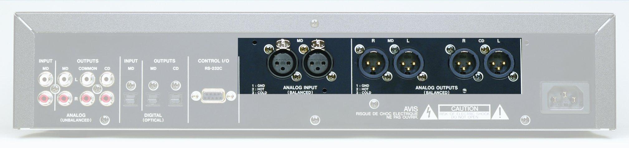Tascam LAMC1 Balanced Audio Option for MDCD1
