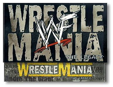 Amazon com: WWF: WrestleMania - The Legacy Box Set (Wrestlemanias 1