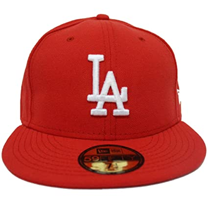 465acea8c29cd Gorras Originales New Era Angeles Dodgers 7 1 2 MLB 59FIFTY  Amazon ...