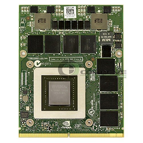 Nvidia Quadro K5000M Mobile 4GB GDDR5 MXM 3 0 GPU Video Card