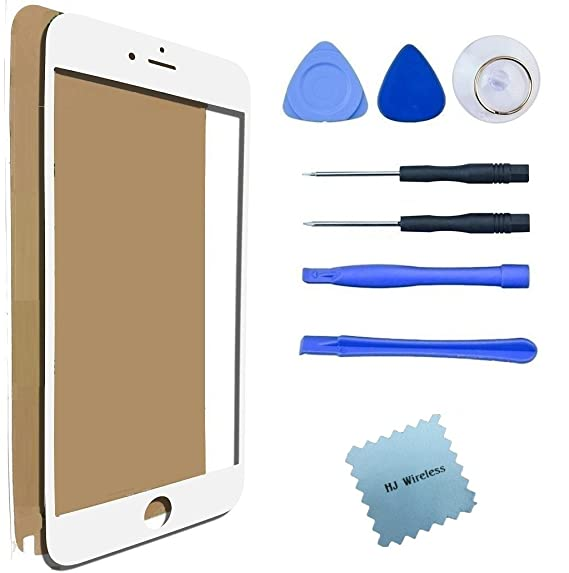 Amazon iphone 6 6s screen replacement glass lens repair kit iphone 6 6s screen replacement glass lens repair kit broken tools white solutioingenieria Image collections