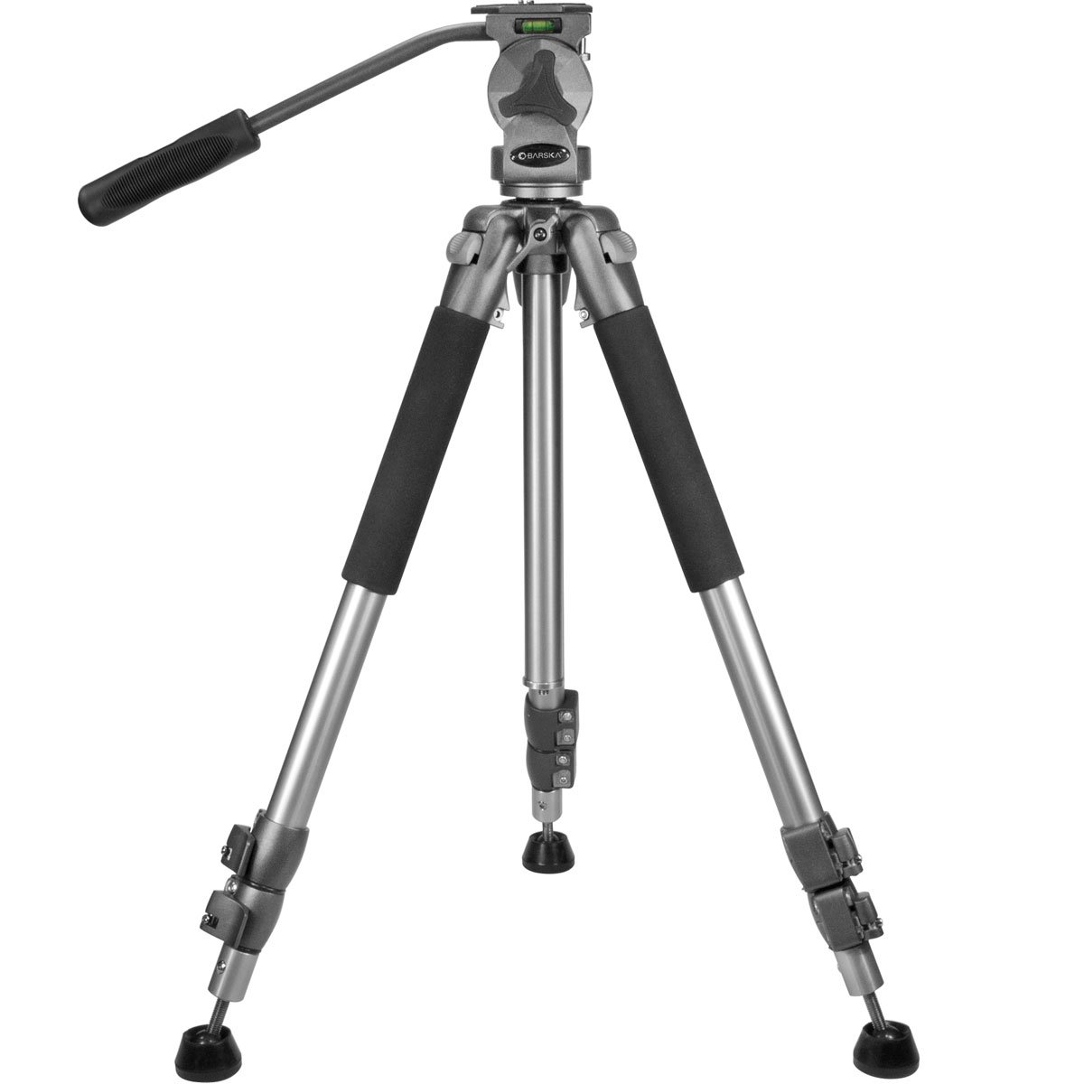 BARSKA Professional Tripod, Extendable to 66'' w/ Carrying Case