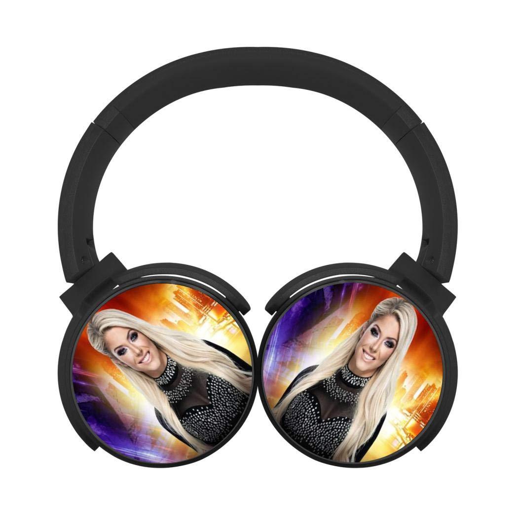 Mobile Wireless Bluetooth Headset Alexa Bliss 3D Printing Over Ear Headphones Black