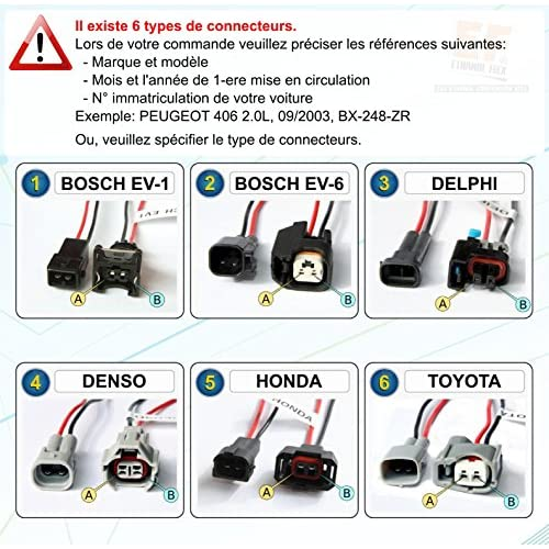 Clarion Haut-parleurs pour porte avant//arri/ère pour Mazda 3//5//6 6 x 8