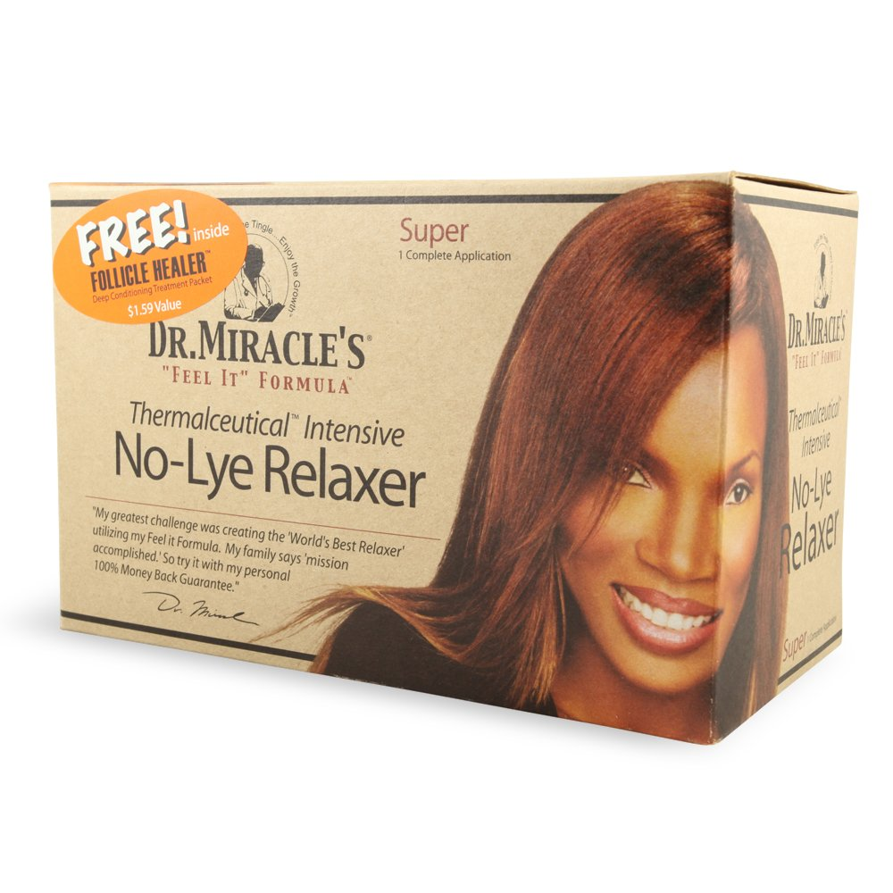 Dr. Miracle's Feel It Formula Thermalceutical Intensive No-lye Relaxer, Super