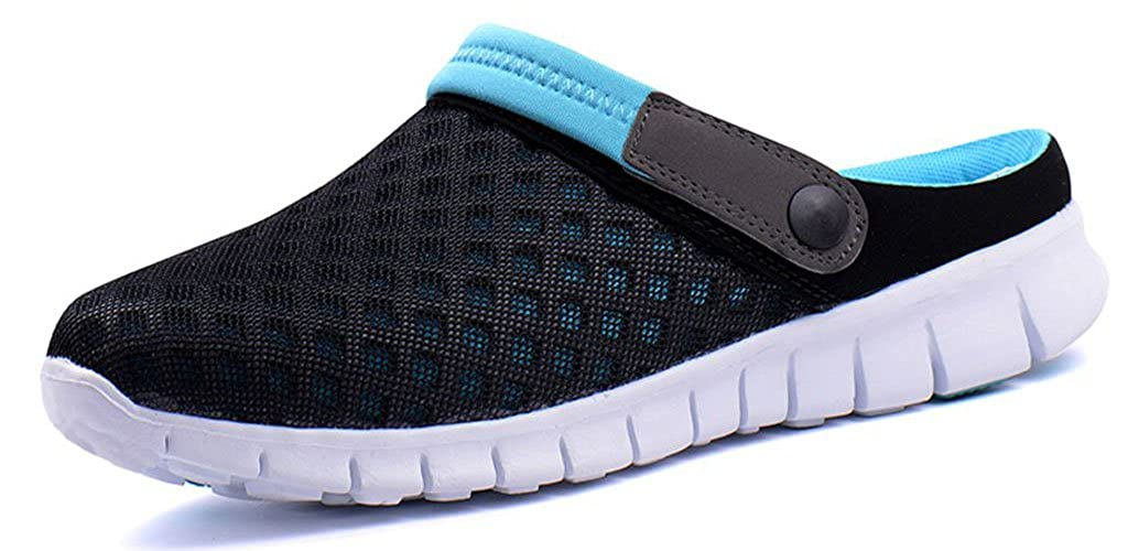 Mens Womens Breathable Mesh Slippers Beach Hollow Out Sandals Outdoor Sports Casual Summer Shoes Flip Flop