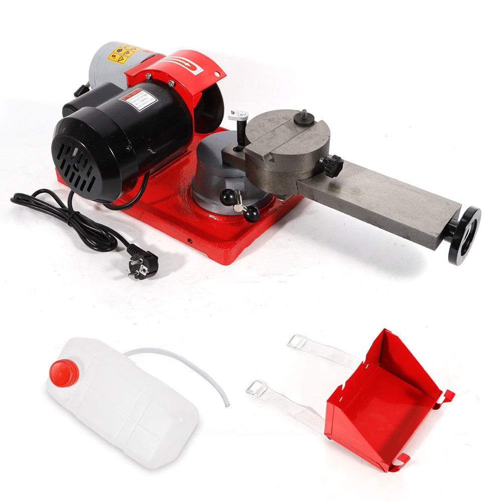 Runds/ägeblattsch/ärfetisch Tischbefestigung 80mm-700mm 250W SENDERPICK 220V Kreiss/ägeblattsch/ärferschleifmaschine Schleifmaschine Solider Motor