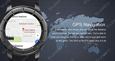 Amazon.com: ALXDR LF16 Smart Watch, UHD Screen 3G/WiFi Phone ...