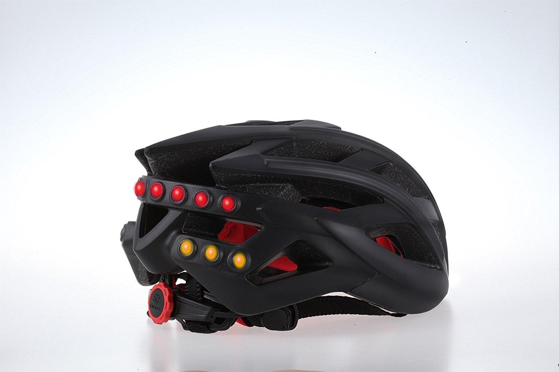Black LIVALL BH60 Bling Helmet with Bling Jet Controller