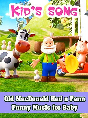 Eieio Farm - Old MacDonald Had a Farm - Funny Music for Baby