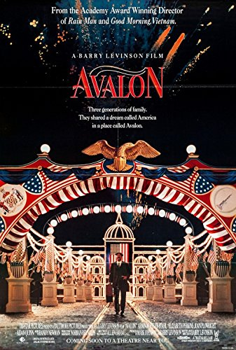 AVALON (1990) Authentic Original Movie Poster - Single-Sided - ROLLED - 27x40 - Eve Gordon - Lou Jacobi - Armin Mueller-Stahl ()