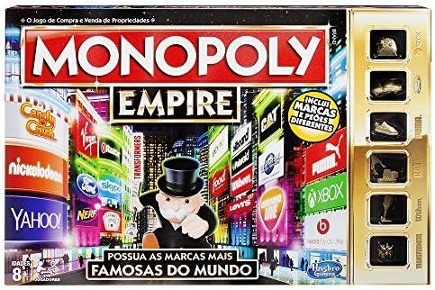 Monopoly Hasbro Gaming - Juego de Mesa Empire (B5095190) (versión Portuguesa): Amazon.es: Juguetes y juegos