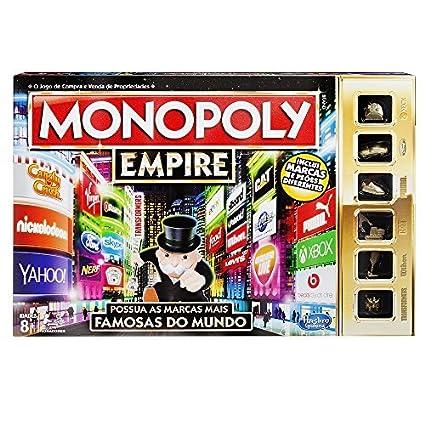 Monopoly Hasbro Gaming Juego De Mesa Empire B5095190 Version