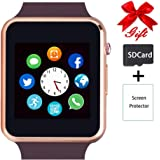 Smart Watch,Unlocked Touchscreen Smartwatch Compatible with Bluetooth/Android/IOS (Partial Functions) Call and Text Camera No