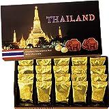 タイ 土産 エレファント マカデミアチップチョコレート 1箱 (海外旅行 タイ お土産)