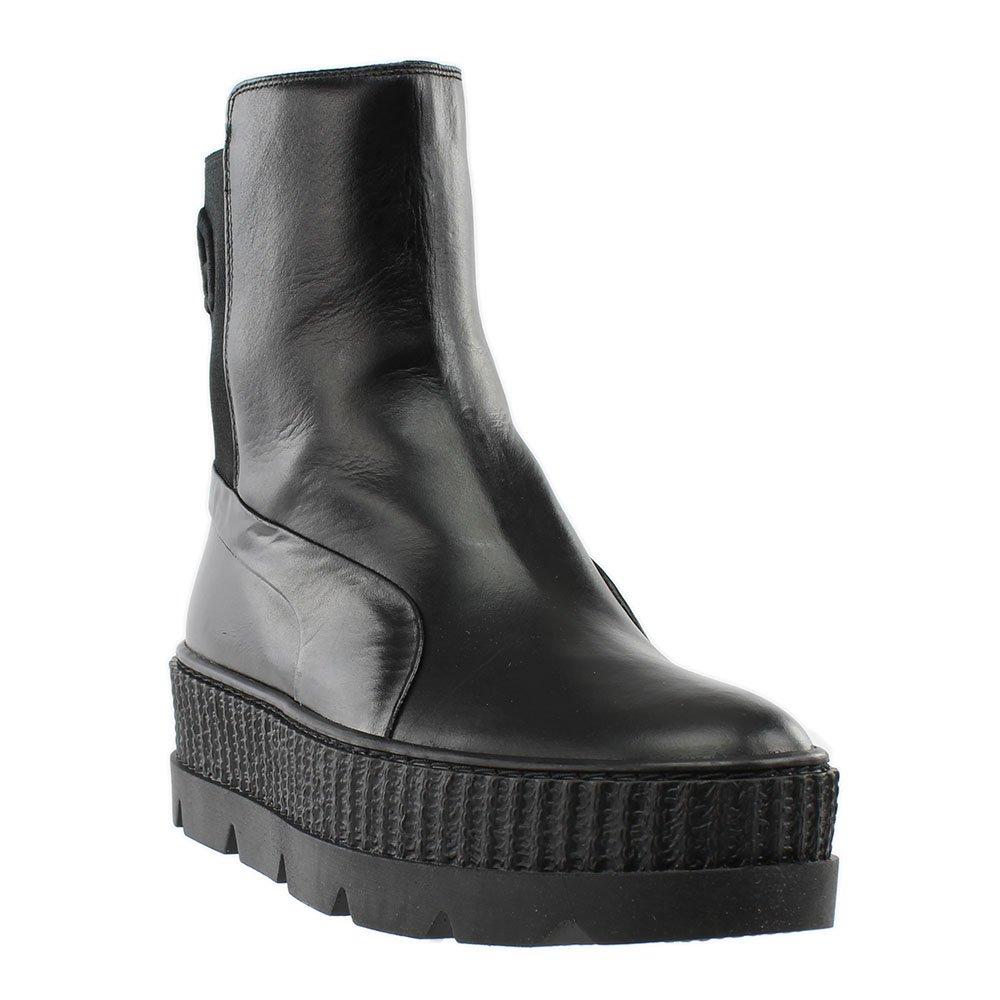 PUMA Women's Fenty x Chelsea Sneaker Boots B0768K4H52 7 B(M) US|Puma Black