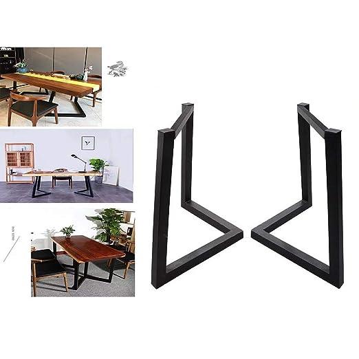 ACZZ Patas para muebles Patas de mesa en forma de V 68 cm ...