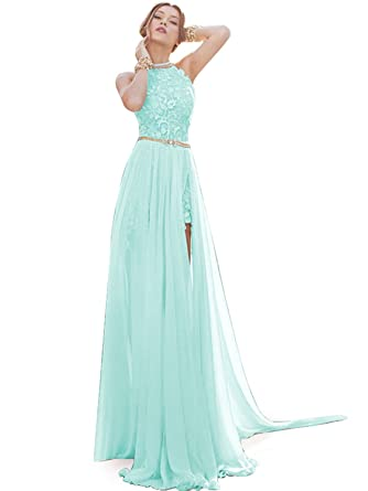 Amazon.com: Babyonline Summer Beach Wedding Gowns for Bride 2016 ...