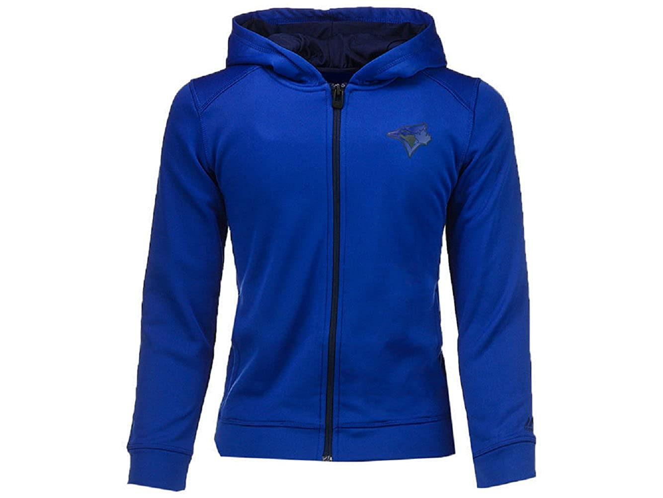 Toronto Blue Jays Majestic MLB Youth Club Full Zip Hoodie New #20915477 - Size Small Aeropostale