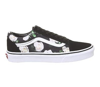9ef92002c234 Vans Old Skool Shoes Romantic Floral Black/True wht: Amazon.co.uk: Shoes &  Bags