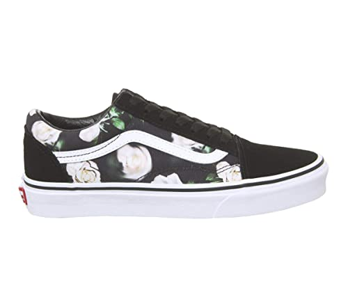 brand new b239b a6c76 Vans Old Skool Schuhe Romantic floral Black/True wht: Amazon ...