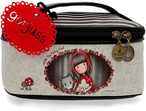 Neceser Gorjuss Little Red Riding Hood 22 cm Multicolor