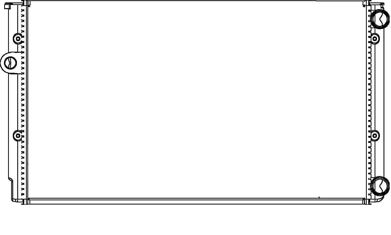 Motorkühlung BEHR HELLA SERVICE   für VW HELLA 8MK 376 714-044 Kühler