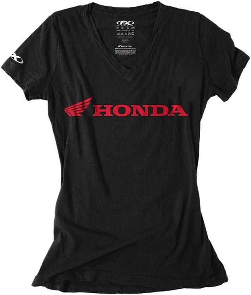 Black, X-Large Factory Effex Womens Honda T-Shirt