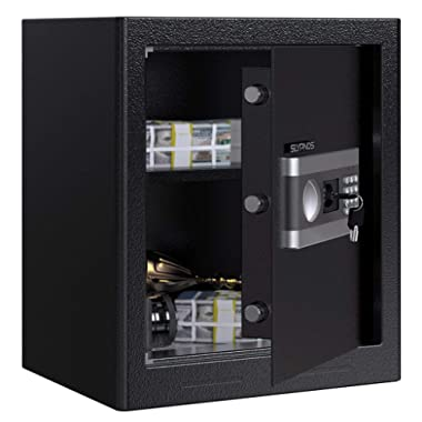Digital Security Safe Box, SLYPNOS Large Lock Box (1.53 Cubic Feet)