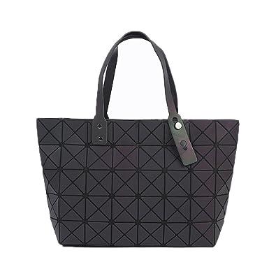 Folded Women Handbags PU Leather Bag Bao Bao Geometric Shoulder Bag  Raindrop Casual Tote Clutch Messenger dc59b37c1c965