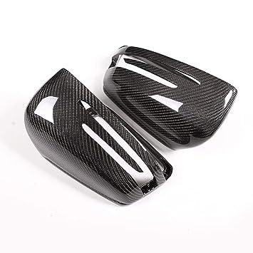 2 tapas de espejo retrovisor de carbono para Benz A W176 B W246 C W204 E W212 CLA W117 GLA X156 GLK X204 CLS Clase W218: Amazon.es: Coche y moto