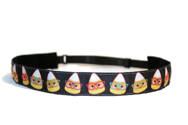 Non-Slip Sport Hairband Candy Corn BEACHGIRL Bands Womens /& Girl Headband
