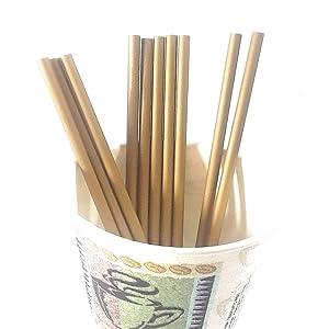 "Gold - 50pcs 6"" Plastic Lollipop Sticks for Cake Pops or Lollipop Candy (Gold Sticks)"
