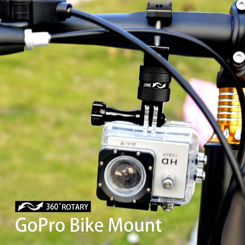 Nrpfell Soporte de Manillar de Bicicleta de Aluminio para GoPro ...