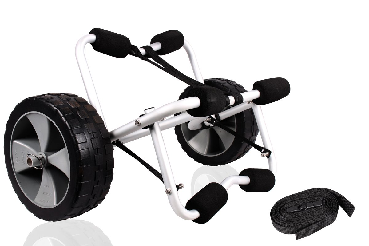 TMS CART-CANOE/KAYAK-KY001((B)) Deluxe Boat Kayak Canoe Carrier Dolly Trailer Tote Trolley Transport Cart Wheel by TMS