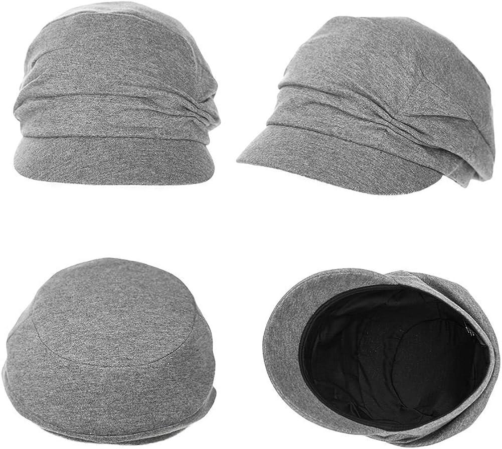 SIGGI Womens Newsboy Cabbie Beret Cap Cloche Cotton Painter Visor Hats Summer