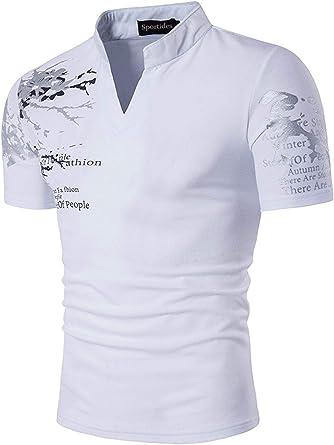 Camisas De Los Hombres La Modernas Casual Moda De De Verano ...