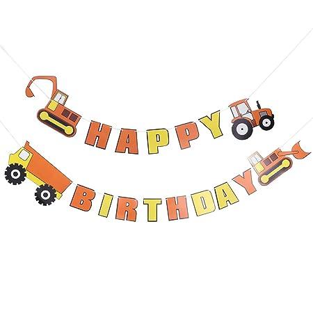 BESTOYARD Banner de Feliz cumpleaños Creative Engineering ...