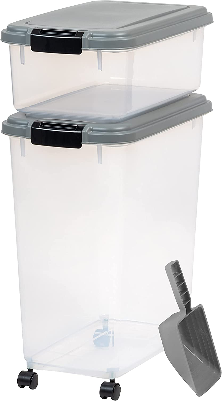 IRIS USA Premium Extra Large Airtight Pet Food Storage Container