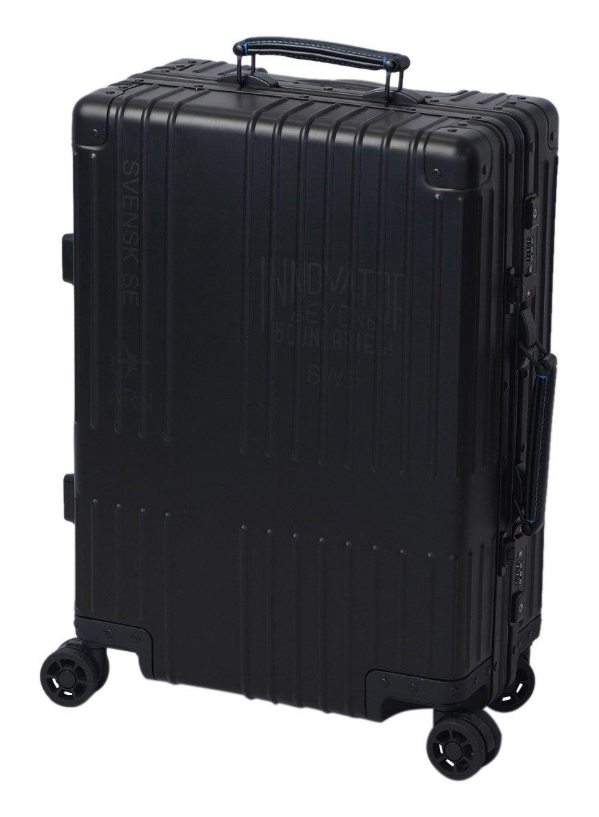 [イノベーター] スーツケース アルミキャリー フレーム 機内持込可 保証付 36L 55cm 4.4kg B06VT2Y5S8 B06VT3XYNM ステルス ステルス