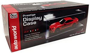 Round 2 Prestige Collectible Display Show Case for 1/18 1/24 Models by Autoworld Awdc001