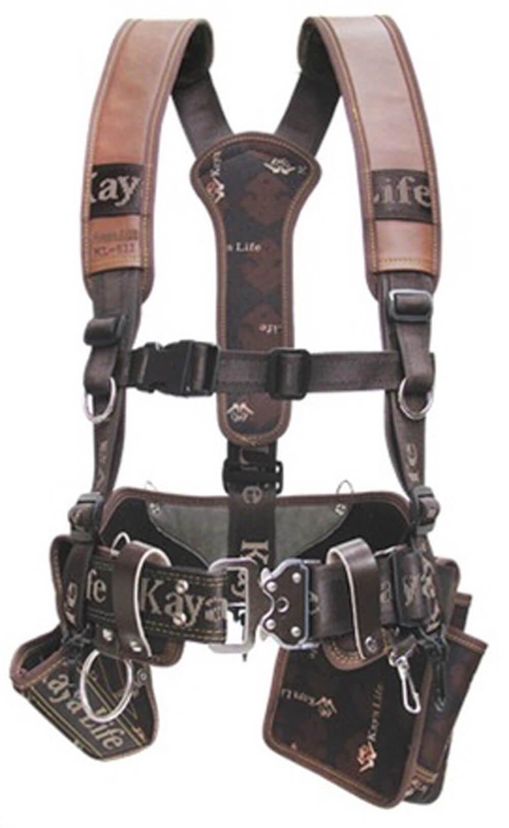 Tools Holsters Drill Holsters Wide Belt Shoulder Suspension Spike Nail Pocket 4 Sets