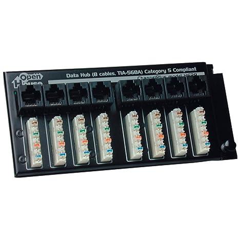amazon com open house h628 termination hub electronics rh amazon com