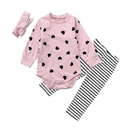 Amazon.com: Newborn Girl Romper Autumn Sets,Jchen(TM) Infant Baby ...
