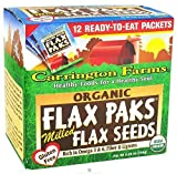 Organic Milled Brown Flax Pack 5.80 Ounces (Case of 6)
