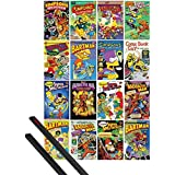 Poster + Hanger: The Simpsons Poster (36x24 inches) Comic Covers And 1 Set Of Black 1art1® Poster Hangers