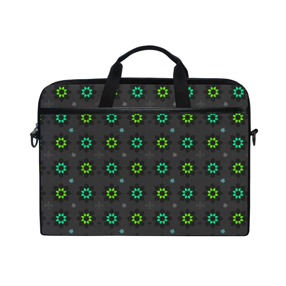 Green Ornamentation Mens and Womens Computer Bags Shoulder Bags Suitable for 15 Inch Computers Handbags Briefcases