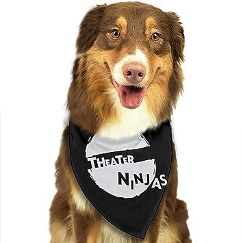 Amazon.com: CZSJzd Theatre Ninja Fashion Dog Bandana Pet ...